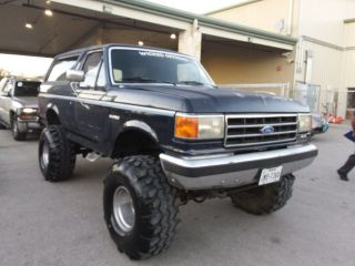 used 1991 ford bronco 25th anniversary edition in rockwall texas