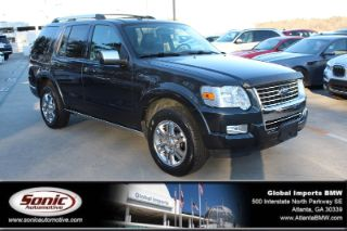 Ford Explorer Limited Edition 2010