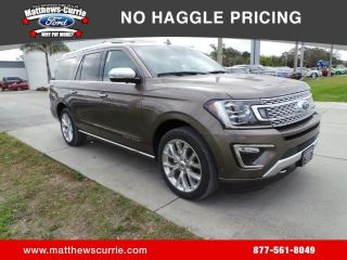 Ford Expedition MAX Platinum 2018