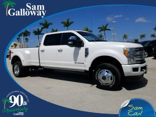 Ford F-350 Platinum 2018