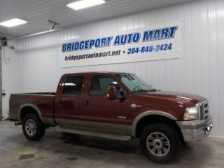 Used 2005 Ford F 250 King Ranch In Bridgeport West Virginia
