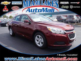 Used 2016 Chevrolet Malibu LT in Hialeah, Florida