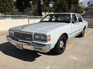 Used 1987 Chevrolet Caprice In Los Angeles California