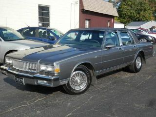 pick up pretty cool innovative design Used 1989 Chevrolet Caprice Classic in Louisville, Ohio