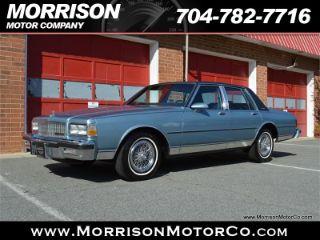 1987 Chevrolet Caprice Classic
