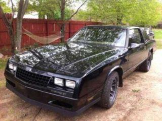 Chevrolet Monte Carlo SS 1988