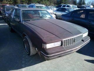 Chevrolet Monte Carlo LS 1987