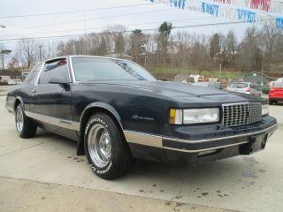 Chevrolet Monte Carlo LS 1988