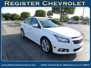 Used 2014 Chevrolet Cruze LTZ in Brooksville, Florida