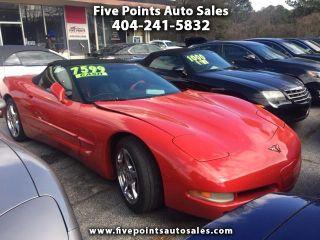 Five Points Auto Sales >> Used 1998 Chevrolet Corvette In Decatur Georgia