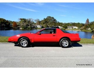 22+ 1984 Pontiac Trans Am Red