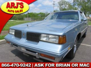 Used 1988 Oldsmobile Cutlass Supreme Classic In Cleveland Ohio