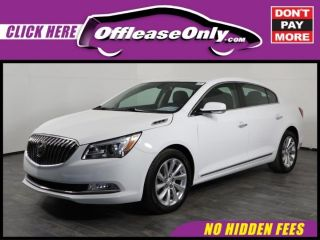 Buick LaCrosse Leather Group 2016