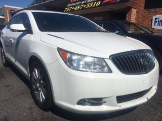 Buick LaCrosse Leather Group 2013
