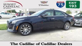 Used 2016 Cadillac CTS Luxury in Venice, Florida
