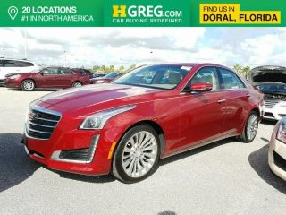 Cadillac CTS Luxury 2015