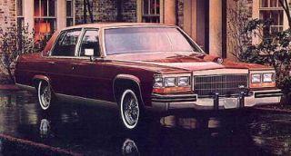 Used 1984 Cadillac Fleetwood Brougham in Genoa, Illinois