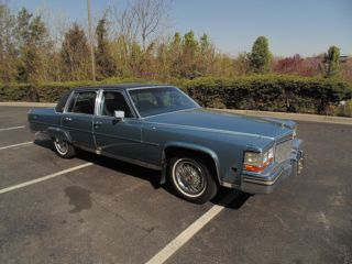 1988 Cadillac Brougham d'Elegance