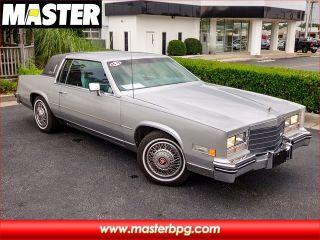 Cadillac Eldorado 1985