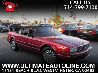 Used 1993 Cadillac Allante in Westminster, California