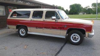 1984 Chevrolet Suburban 20