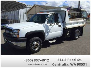 Used 2003 Chevrolet Silverado 3500 in Centralia, Washington