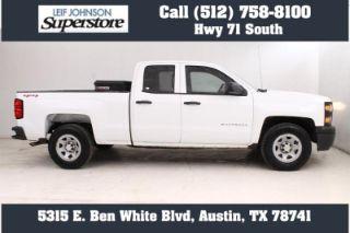 Used 2015 Chevrolet Silverado 1500 Work Truck in Buda, Texas