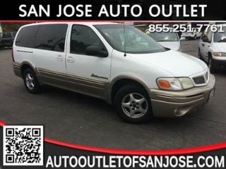 Used 2002 Pontiac Montana in San Jose, California
