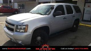 Chevrolet Tahoe Police 2012