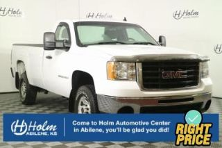 GMC Sierra 2500HD Work Truck 2008