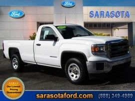 Used 2015 GMC Sierra 1500 Base in Sarasota, Florida