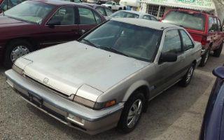 Honda Accord LXi 1989