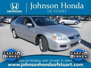 Used 2006 Honda Accord EX in Stuart, Florida