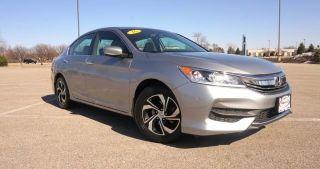Used 2016 Honda Accord Lx In Loves Park Illinois