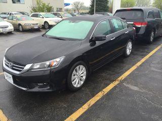 Used 2015 Honda Accord EXL in Clive, Iowa