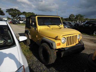 Jeep Wrangler SE 2003