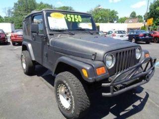 Jeep Wrangler SE 2002