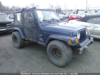 Used 2005 Jeep Wrangler X in Pittston, Pennsylvania