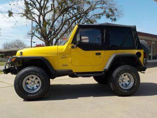 Used Jeep Wrangler Sport >> Used 2000 Jeep Wrangler Sport In Fayetteville Arkansas