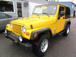 Used 2005 Jeep Wrangler Sport in Bridgewater, Massachusetts