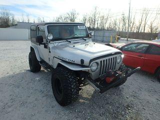 Jeep Wrangler Rubicon 2003