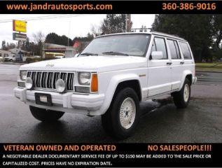 Used 1991 Jeep Cherokee Limited Edition in Marysville, Washington