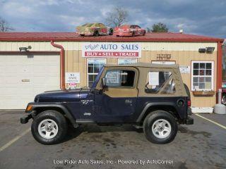 Jeep Wrangler SE 1998