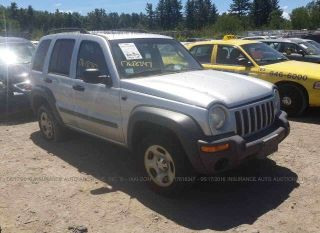 Used 2002 Jeep Liberty Sport in Shirley, Massachusetts