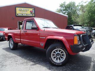 Jeep Comanche Pioneer 1990