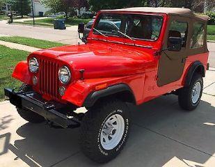 Jeep CJ 1986
