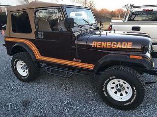 Jeep CJ Renegade 1986