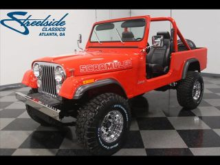 1985 Jeep Scrambler