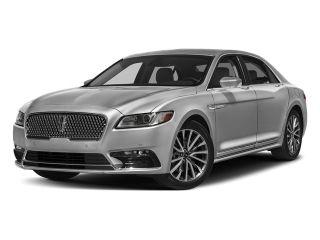 2018 Lincoln Continental Black Label