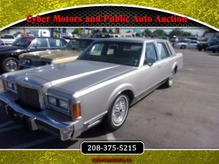 Used 1989 Lincoln Town Car Signature In Boise Idaho